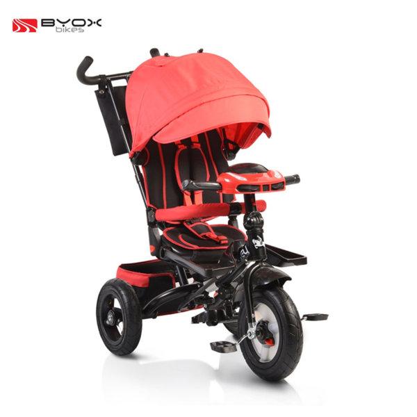 Byox Bikes - Детска триколка Jockey с музикално табло red 106036