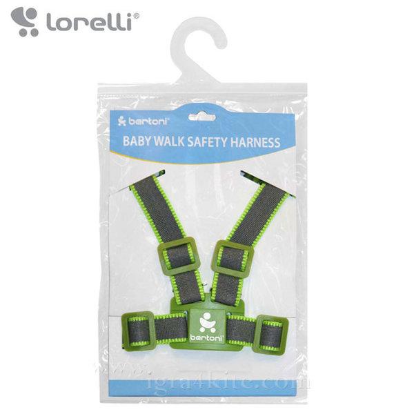 Lorelli - Коланче за прохождане Сиво/Зелено 10010051252