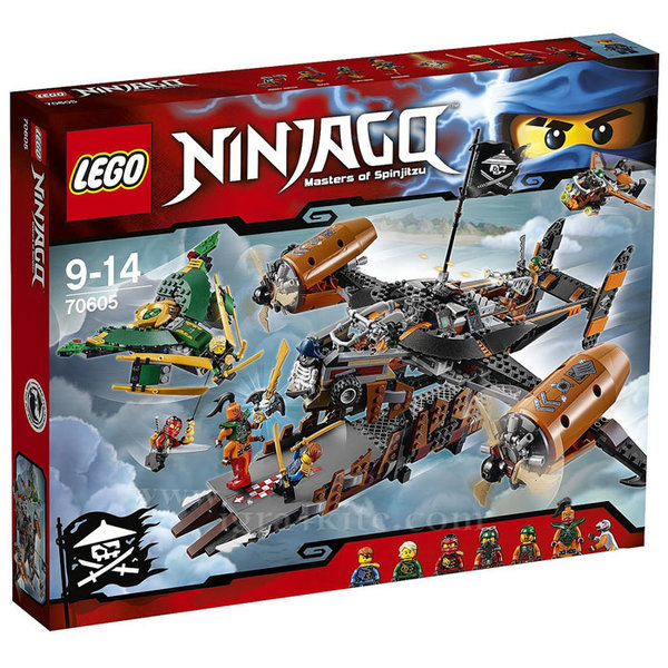 Лего 70605 Нинджаго - Крепостта на нещастието