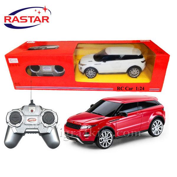 Rastar - Джип Range Rover Evoque с дистанционно управление 1:24 46900