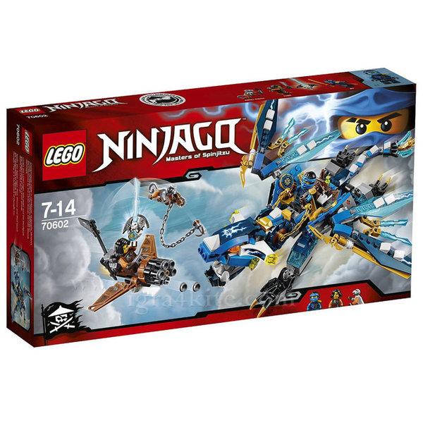 Лего 70602 Нинджаго - Стихийният дракон на Джей