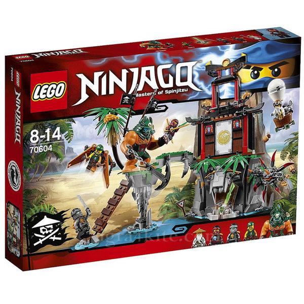 Лего 70604 Нинджаго - Островът на тигровата вдовица