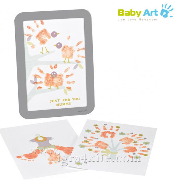 Baby Art - Рамка за отпечатък с боички за Деня на майката 00049