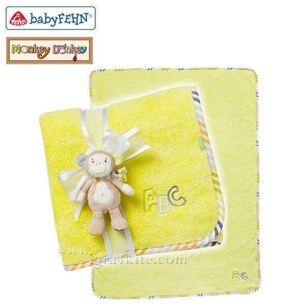 Baby Fehn Monkey Donkey - Бебешко одеалце Маймунка 081862