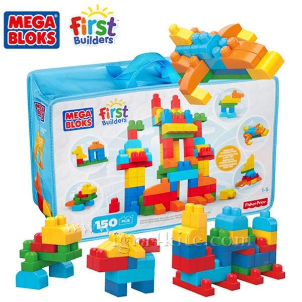 Fisher Price Mega Bloks - Моят първи строител 150 части CNM43