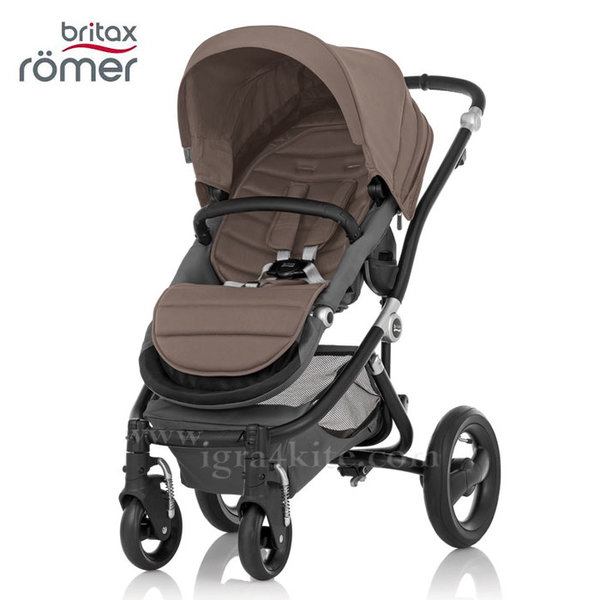 Britax Romer - Количка Affinity Fossil Brown/Black
