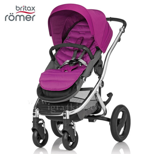 Britax Romer - Количка Affinity Cool Berry/Chrome