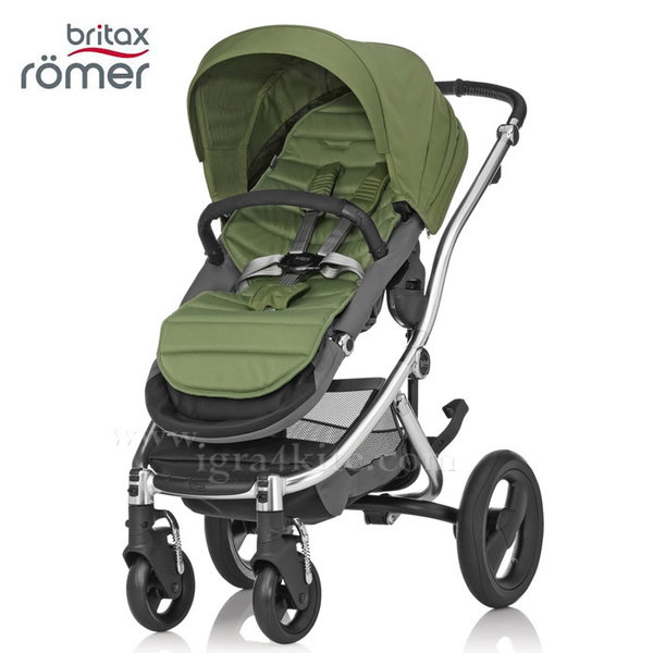 Britax Romer - Количка Affinity Green/Chrome