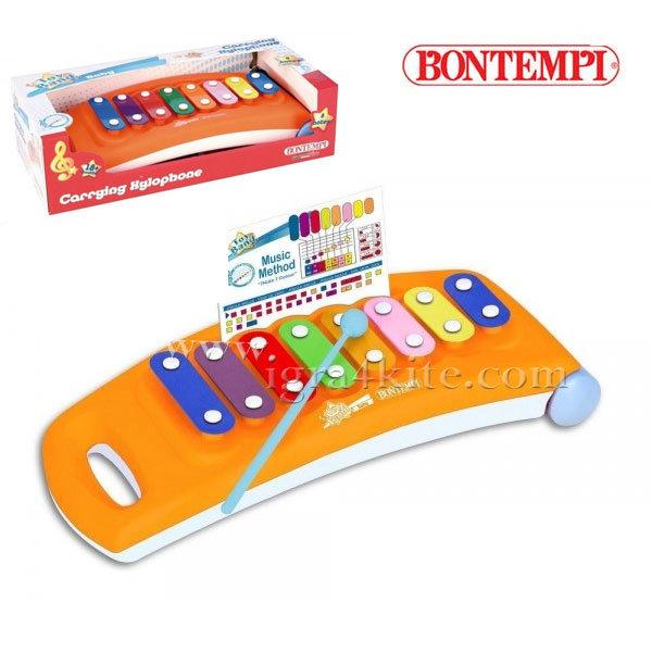 Bontempi - Детски ксилофон 8 ноти 191003