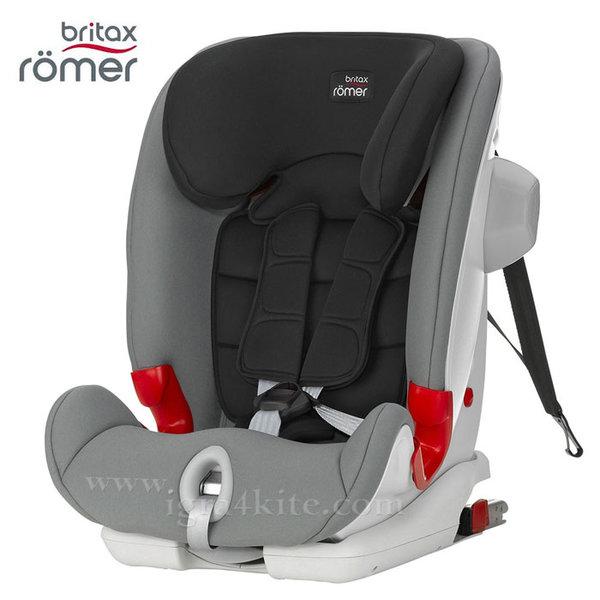Britax Romer - Столче за кола AdvansaFix II SICT Steel Grey (9-36kg)
