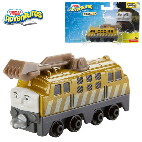 Fisher Price - Влакчето Томас Collectible Diesel 10 dxr72