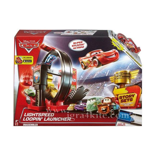 Disney Cars - Лупинг писта Изстрелвачка за каскади Дисни Колите DJC57