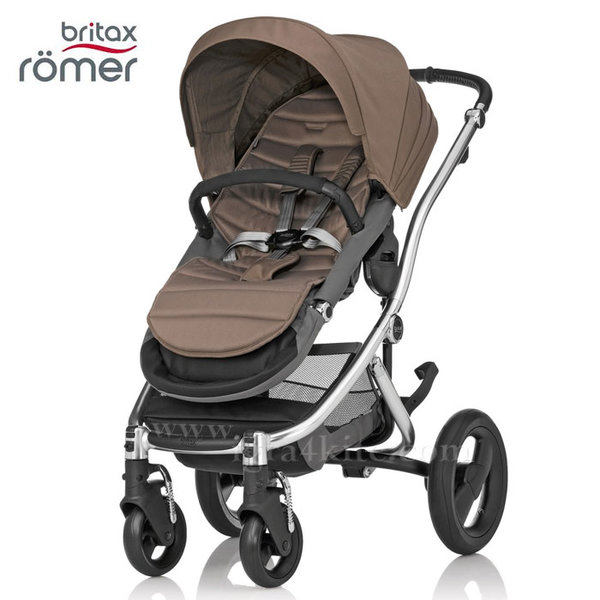 Britax Romer - Количка Affinity Fossil Brown/Chrome