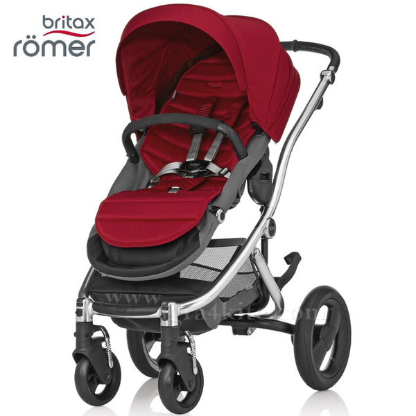 Britax Romer - Количка Affinity Chili Pepper/Chrome