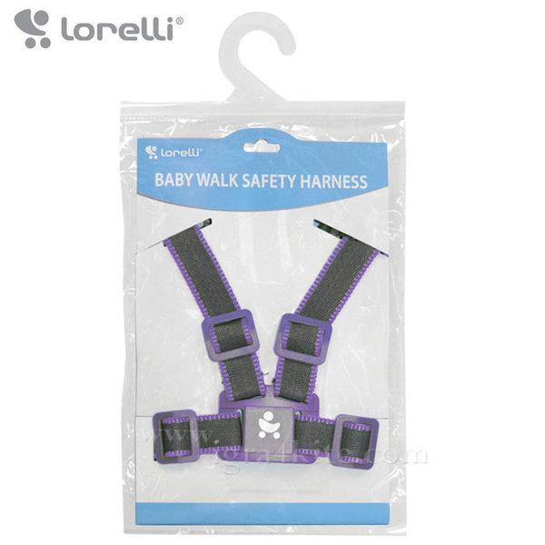 Lorelli - Коланче за прохождане Сиво/Виолетово 10010051265