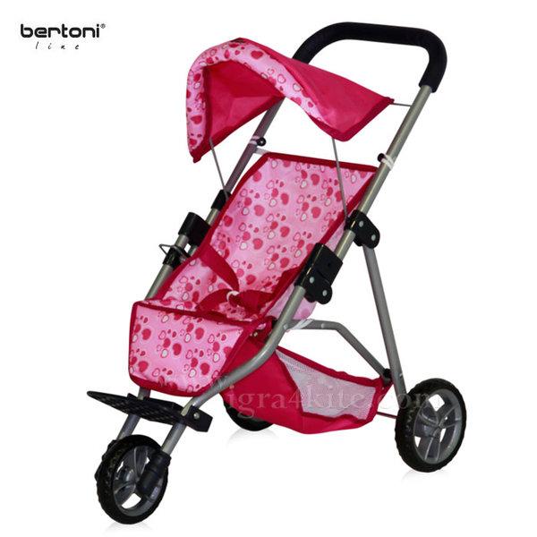 Bertoni - Количка за кукли Tricycle 1006015