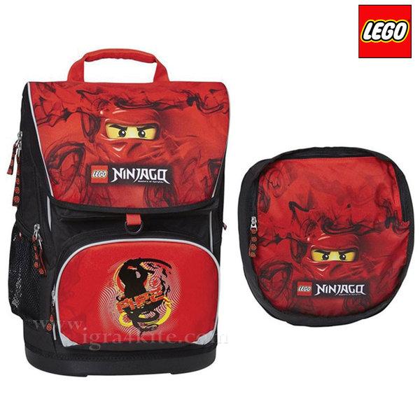 Lego Small - Ергономична ученическа раница Лего Ninjago Kai 15242