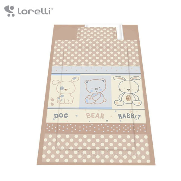Lorelli - Спален комплект 4 части Приятели Екрю 20800022403