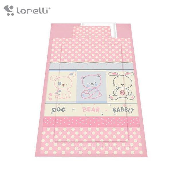 Lorelli - Спален комплект 4 части Приятели Розов 20800022402