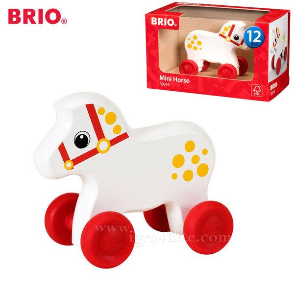 Brio - Дървено конче за бутане 30310