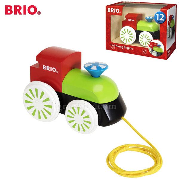 Brio - Дървено влакче за дърпане 30240