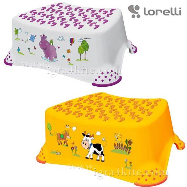 Lorelli - Детско стъпало за баня HIPPO/FARM 1013038