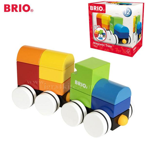 Brio - Дървено магнитно влакче 30245