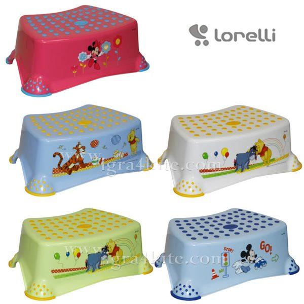Lorelli - Детско стъпало за баня DISNEY 1013035