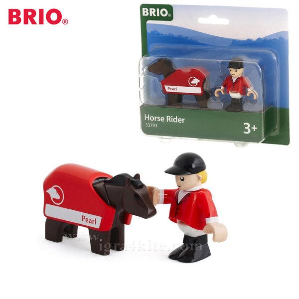Brio - Играчка конче с ездач 33793