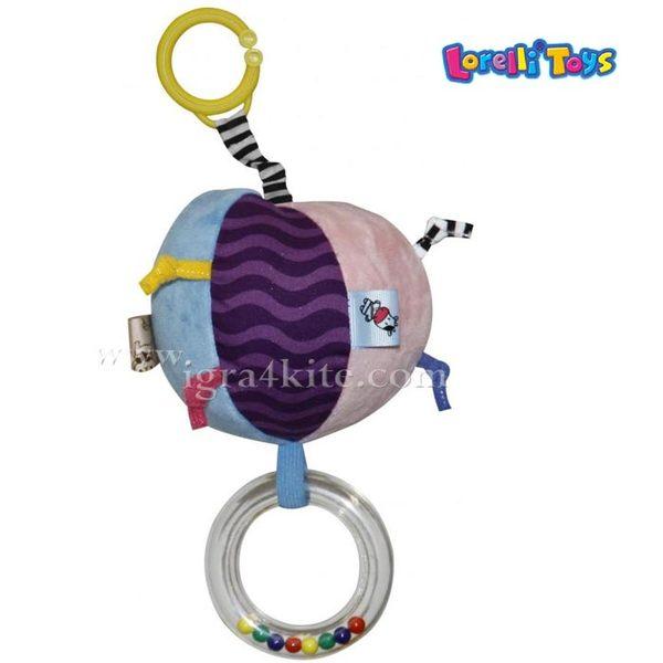Lorelli Детска играчка трептяща и смееща се Весела Топка 1019094