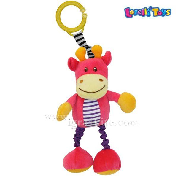 Lorelli Трептяща играчка СКОКЛЬО - ЖИРАФ 10191061301