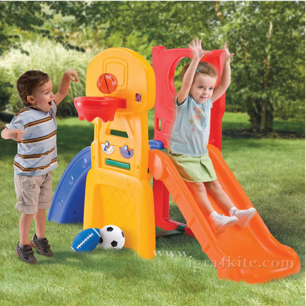 Step2 - Детски център за игра с пързалка 781800