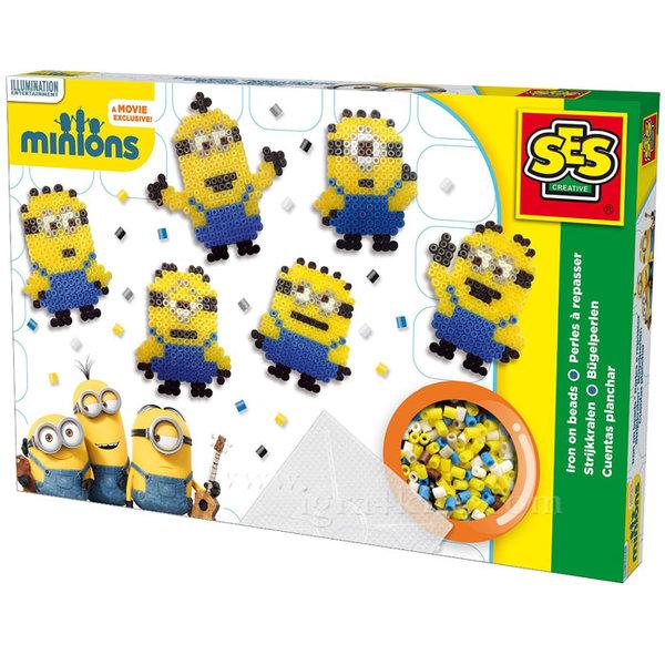 SES Creative Beedz - Minions Комплект мъниста Миньоните 14743