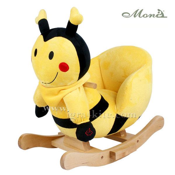 Moni - Музикална плюшена люлка Пчеличката Бил