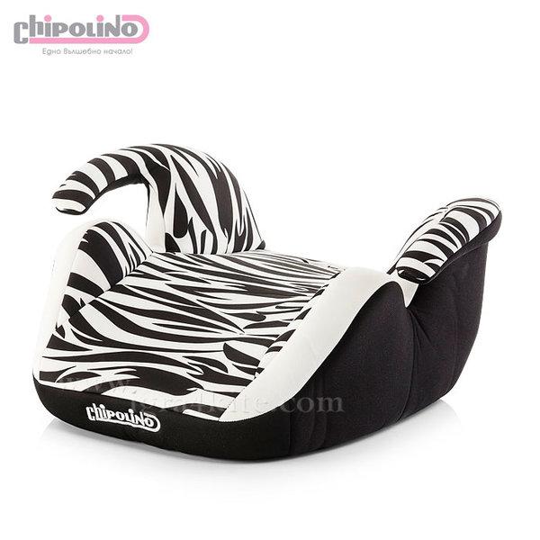 Chipolino - Седалка за кола Актив зебра (15-36кг)
