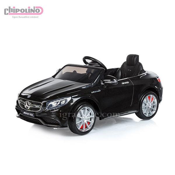 Chipolino - Акумулаторна кола Mercedes Benz AMG с дистанционно управление черна