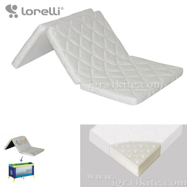 Lorelli - Сгъваем матрак AIR COMFORT 60/120/6см