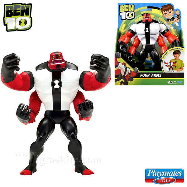 Ben 10 - Екшън фигура Бен Тен Deluxe Four Arms 76650