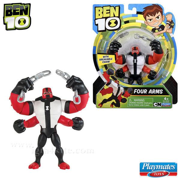 Ben 10 - Екшън фигура Бен Тен Four Arms 76100