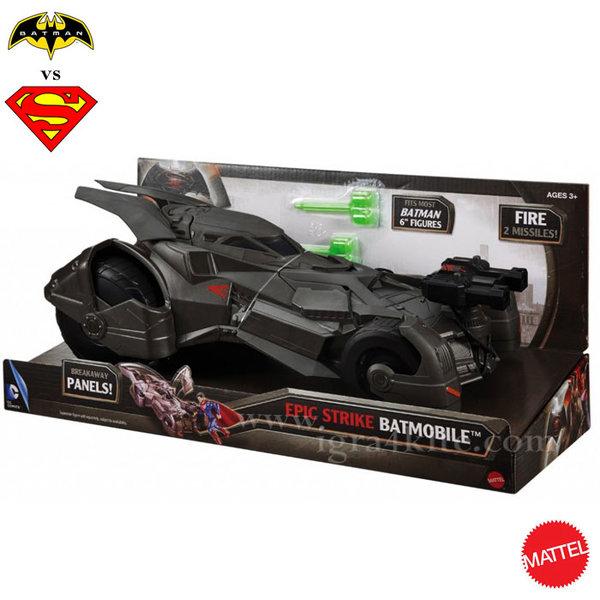 Batman vs Superman - Батмобил Делукс DHY29