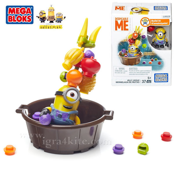 Mega Bloks Minions - Забавление с Миньоните dmv20