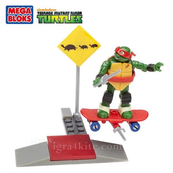 Mega Bloks TMNT - Забавен строител Тренировката на Рафаело dmx26