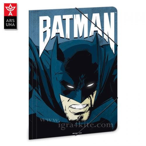 Ars Una Batman - Папка с ластик А4 Батман АрсУна 90217678