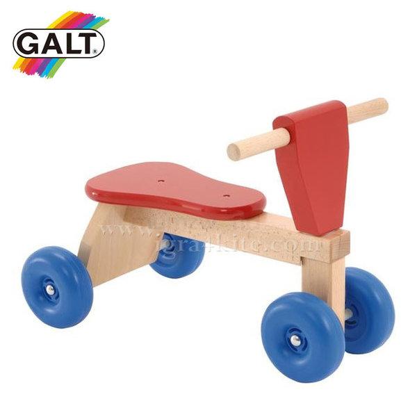 GALT - Дървено бебешко колело с четири колела 1034