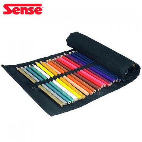 Sense - Цветни моливи в текстилен несесер 36 цвята 10339