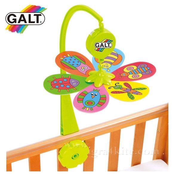 GALT Музикална въртележка за легло Цвете 1004564