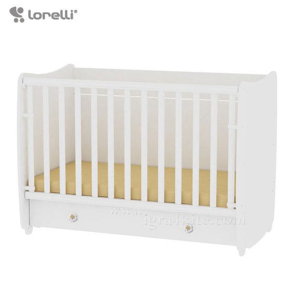 Lorelli - Бебешко легло - люлка Dream 70/140 см. Бяло