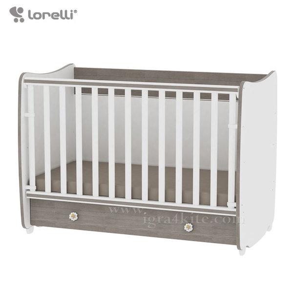 Lorelli - Бебешко легло - люлка Dream 70/140 см. Бяло/Кафе 10150440027A