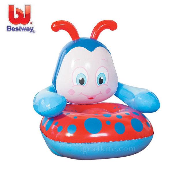 Bestway - Детско надуваемо кресло Калинка 75061