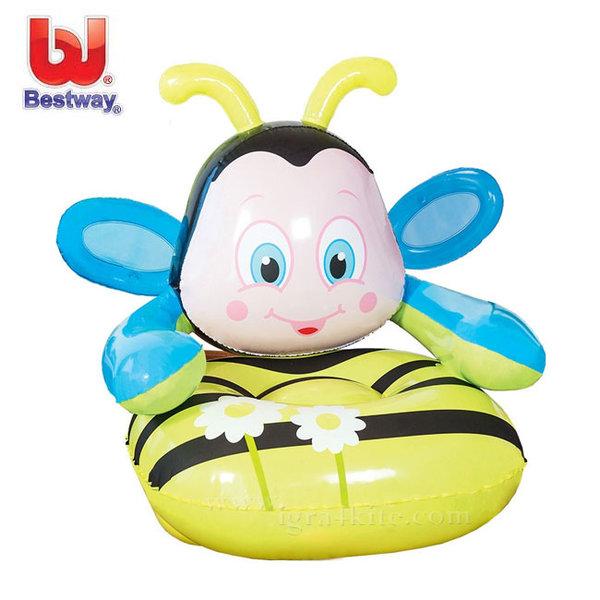 Bestway - Детско надуваемо кресло Пчеличка 75062